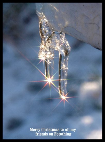 icicle winter christmas crowy e520