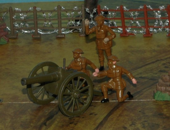 Johillco Britains Hollowcast toy soldiers