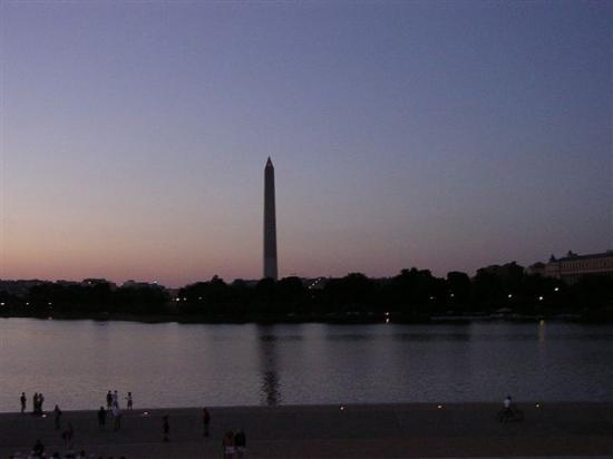 sunset washingtonmonument