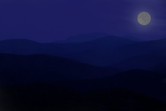 night shenandoah