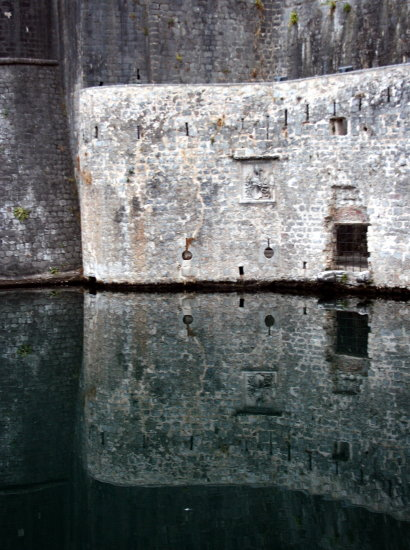 reflectionthursday wall kotor montenegro