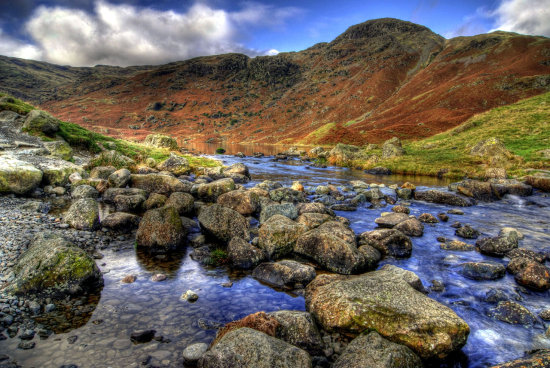 HDR Landscape Lake_District Tarn