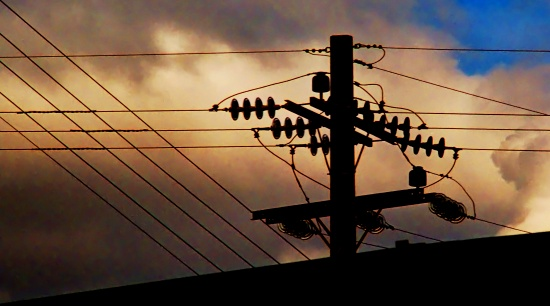 HighVoltage electricity electricwires