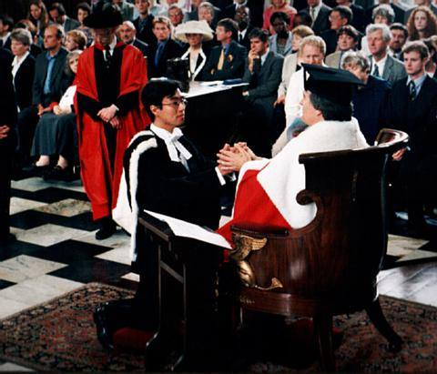 Calvin's Graduation Senate House University of Cambridge Lord ...