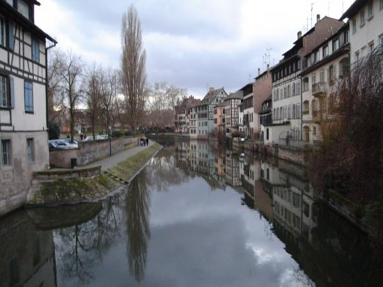 Petit France- a LOVELY old neighborhood in Strasbourg. Full of canals.