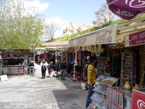 nevsehir goreme turkey turkiye nature shop