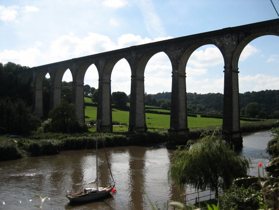 river boats bridge calstock