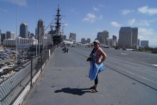 vacation usa san diego uss Midway