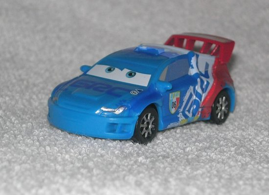 pixar cars 2 toy car Raoul aRoule Raoul cha Roule