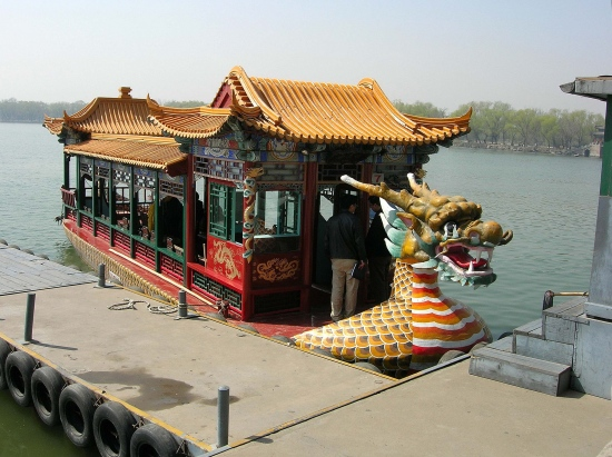 summerpalace dragonboat beijing peking china