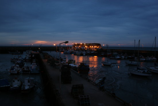 bridlington harbour  5.30 am in morning