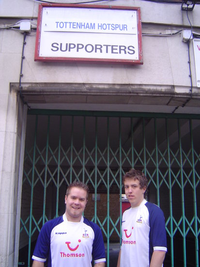 Spurs Boys at Highbury