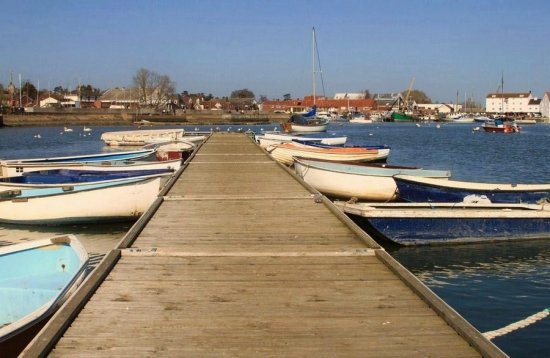 Jetty on The River Deben