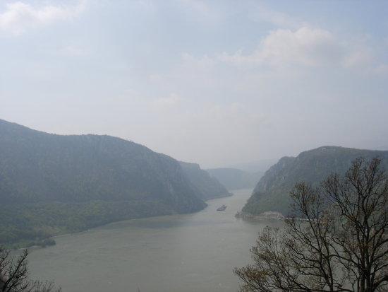 Djerdap valley Danube Serbia national park