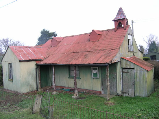 Church Corrugated Iron