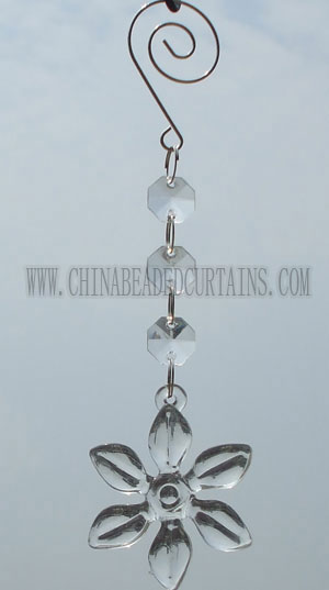 octagon crystal chains flower crystal pendants octagon beads vase crystal _commercial