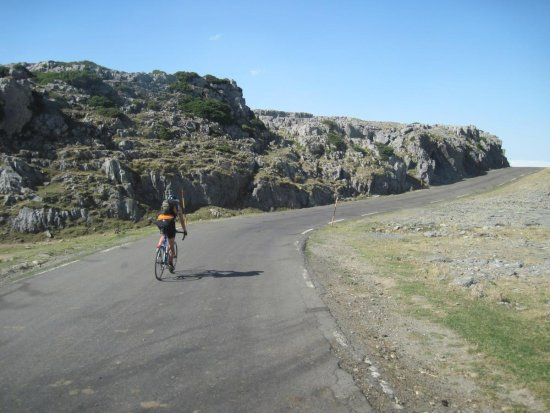Bicycling Pyrenees France