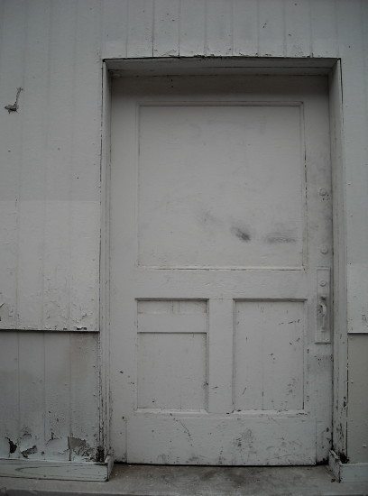 white door wall