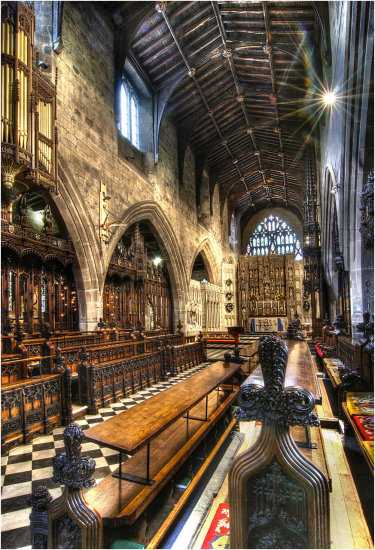 HDR Newcastle Cathedral