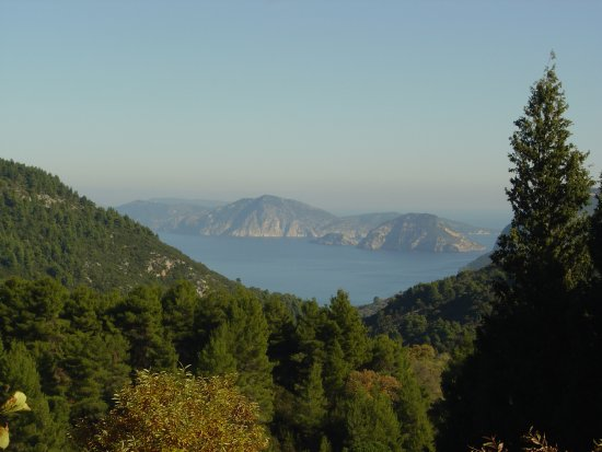 Country side of Skopelos Isl Greece