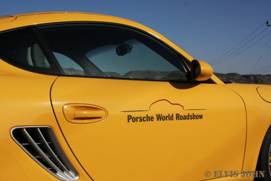 Porsche Cayman World Roadshow Oman