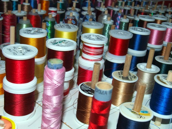 thread crafts sewing