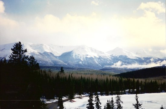 Jasper Canada mountains