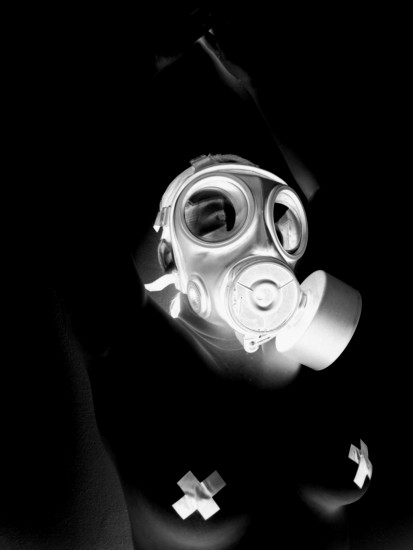 Fetish Fetishism Gas Mask Negative Pose