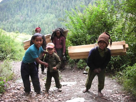 kids family lifestyle nepal