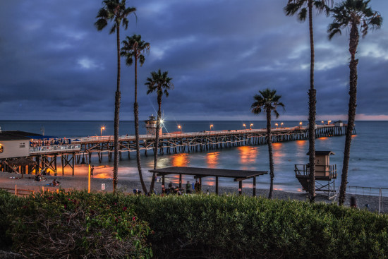 Dana Point pier and seascapes