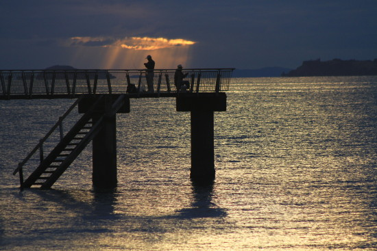 murrays bay sunrise pier