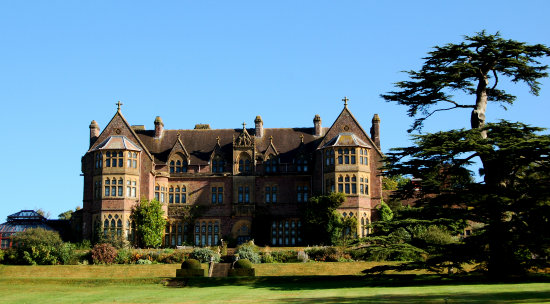 knightshayes court architecture devon