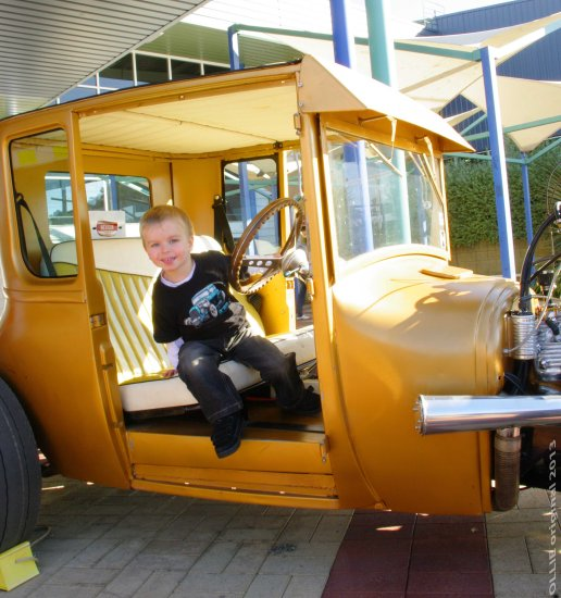 hot rod charity donation photo young man mum Claremont perth littleollie