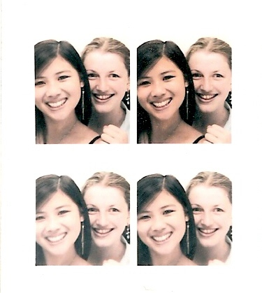 Me & Cece in a photo booth whilst shopping!! (as all girls like to do!)