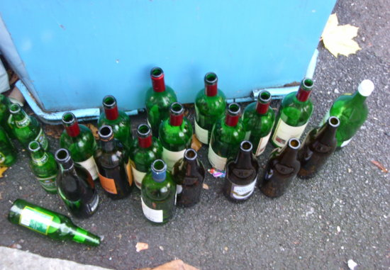 rubbishfriday bottles thirsty