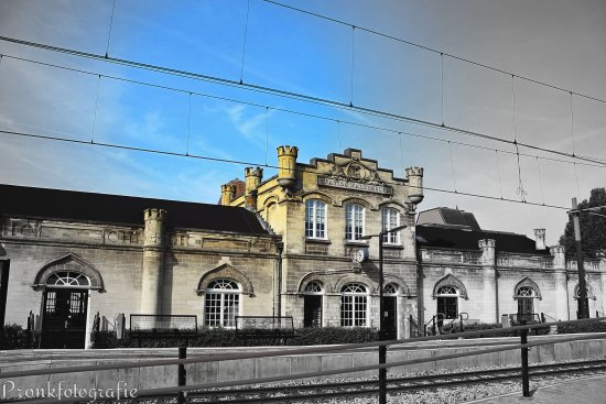 station coulor bw photografie