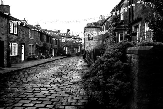 taken at Haworth before the start of the 40s weekend,