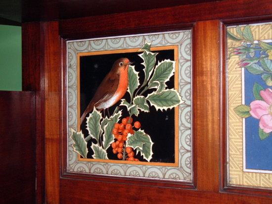 9/9 Tiles at the Jackfield Tile Museum, Ironbridge