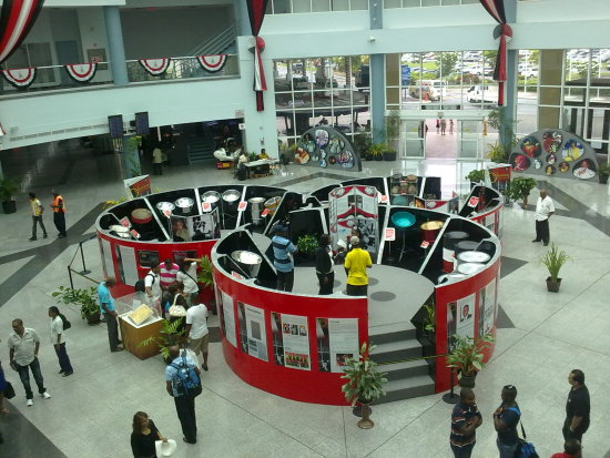 50th anniversary exhibition Piarco International Airport