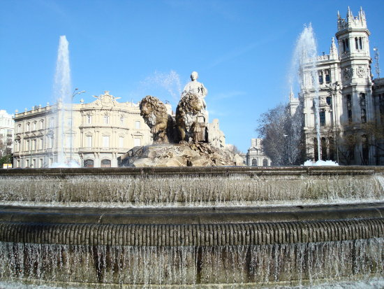 Plaza Cibeles - Madrid.