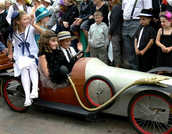 art deco parade napier nz