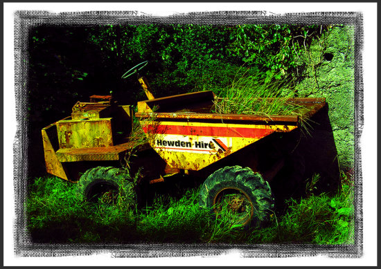 Dumper Abandoned Keel Laughtacallow Kerry Ireland Peter OSullivan