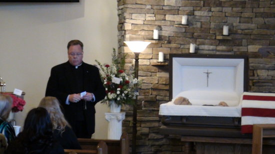 Dads funeral