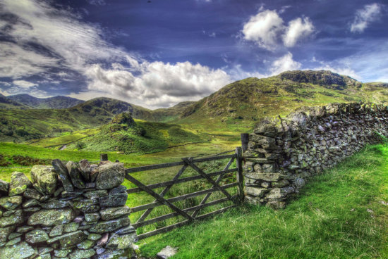 HDR Landscape Lake_District