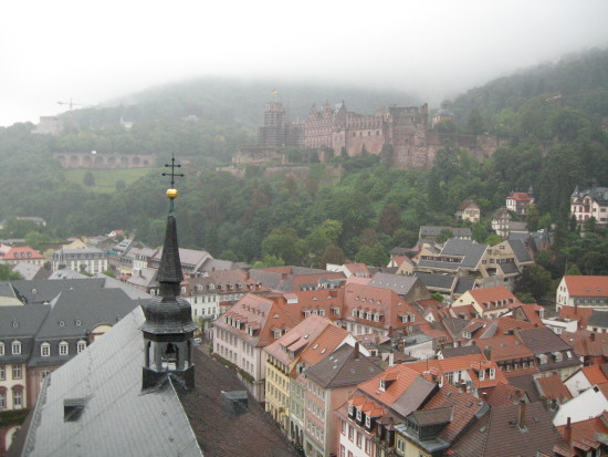 heidelberg castle travel germany