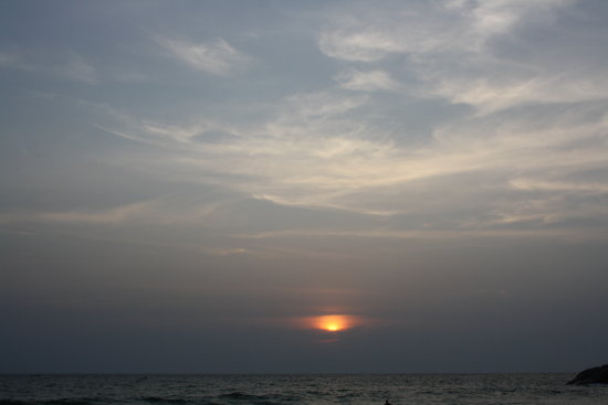 Sun Sea Sunset