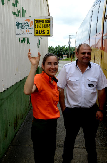 zuiderdam cruise puertolimon costarica tour guide bus driver