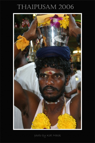 hindu abstract indian thaipusam series