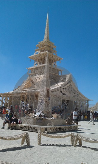 burningman temple 2012 BM nevada
