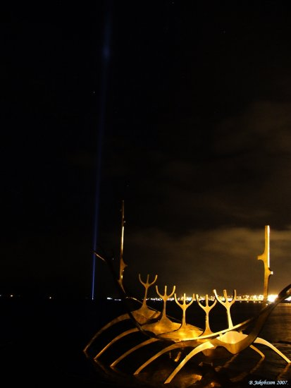 SunVoyager Imagine Peace Tower Iceland
